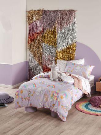 Unicorniverse Quilt Cover Set