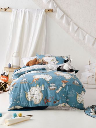 World Voyager Quilt Cover Set