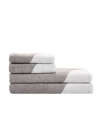 Splice Grey Towel Collection
