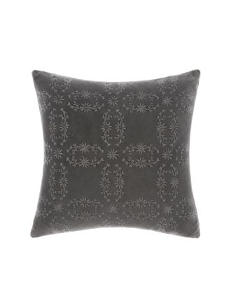 Abigail Charcoal Cushion 45x45cm