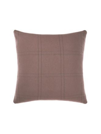 Albert Black European Pillowcase