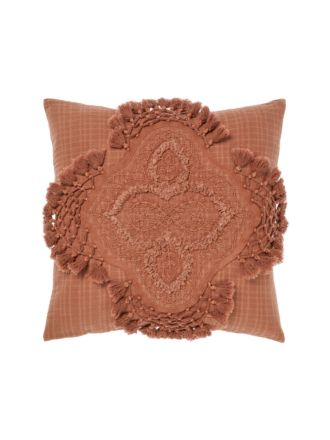 Alli Baked Clay Cushion 48x48cm