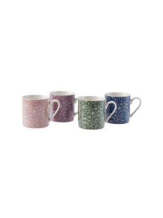 Antheia 4-Piece Mug Set
