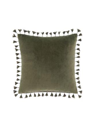 Belmore Olive Cushion 50x50cm