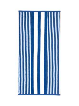 Cabana Stripe Blue Beach Towel