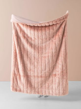 Chanel Peach Throw