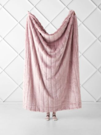 Chanel Rose Throw