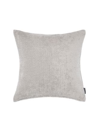 Chenille Tweed Charcoal Cushion 43x43cm