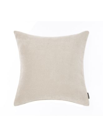 Chenille Tweed Cream Cushion 43x43cm