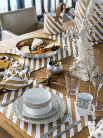 Saint Nic Stripe Placemat