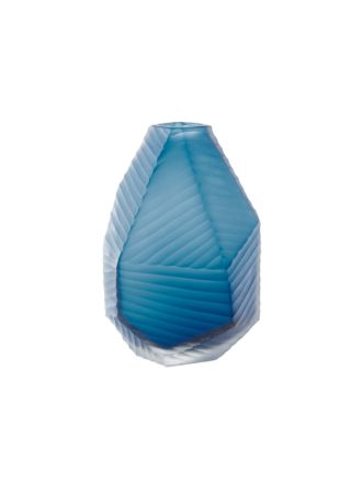 Coda Teal Vase 22cm