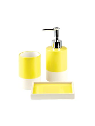 Cruz Yellow Bathroom Collection
