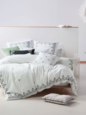 Darwin Mint Quilt Cover Set