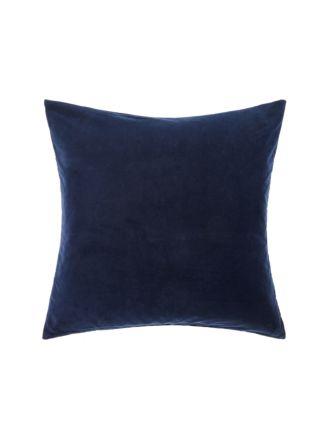 Deluxe Velvet Navy European Pillowcase