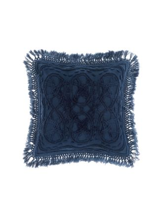 Drift Denim Cushion 50x50cm