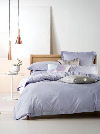 Elka Lavender Quilt Cover Set
