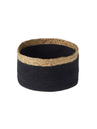 Equador Black Storage Basket - Small