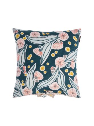 Evie Teal Cushion 45x45cm