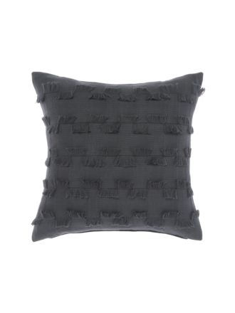 Fergus Charcoal Cushion 50x50cm