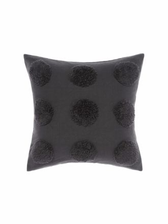 Haze Charcoal Cushion 45x45cm