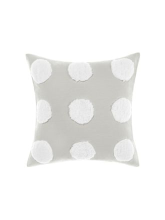 Haze Grey/White Cushion 45x45cm