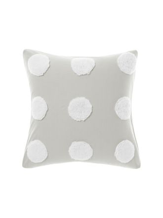 Haze Grey/White European Pillowcase
