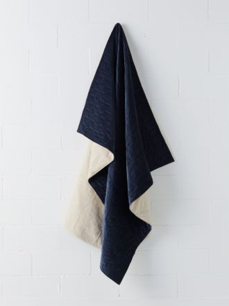 Kew Navy Throw