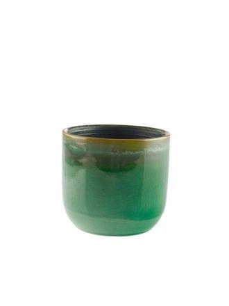 Luka Green Planter Pot 11.5cm