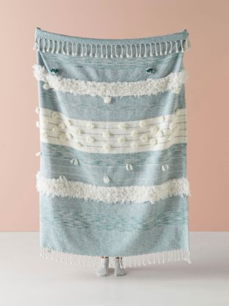 Merricks Blue Throw