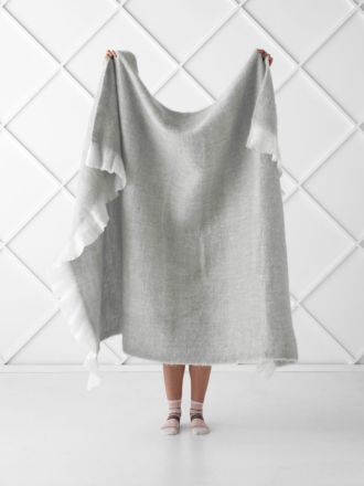 Moana Grey Throw