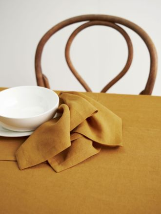 Nimes Chai Linen 4-Piece Napkin Set