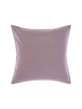 Nimes Elderberry Linen European Pillowcase