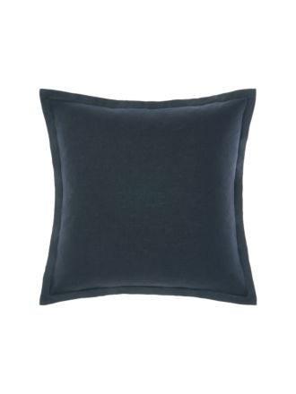 Nimes Indigo Tailored Linen Cushion 48x48cm