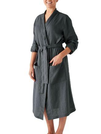 Nimes Magnet Linen Robe