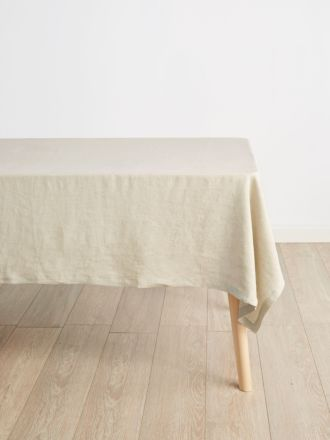 Nimes Natural Linen Tablecloth – Small