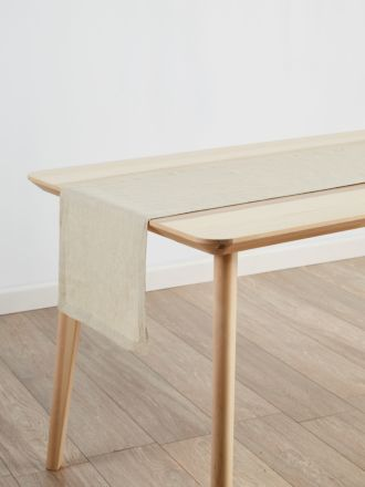 Nimes Natural Linen Table Runner