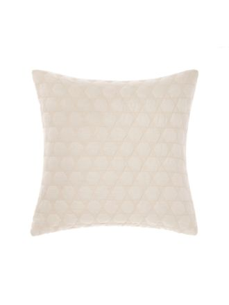 Nimes Peach Linen Cushion 50x50cm