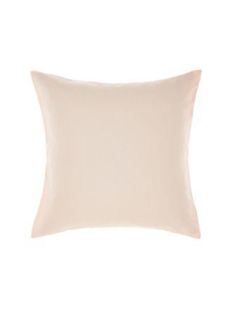 Nimes Peach Linen European Pillowcase