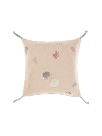 Otis Peach Cushion 50x50cm