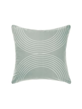 Penina Blue European Pillowcase