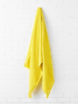 Pier Yellow Throw