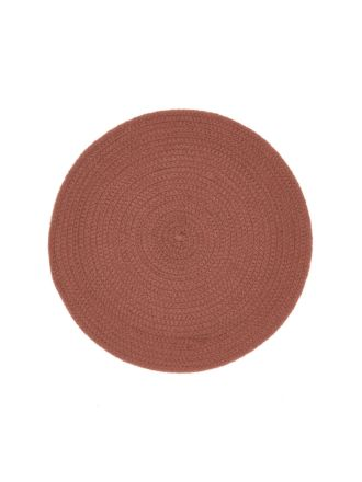 Plait Cinnamon Placemat