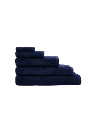 Reed Navy Towel Collection