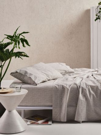 Sadie Taupe Sheet Set