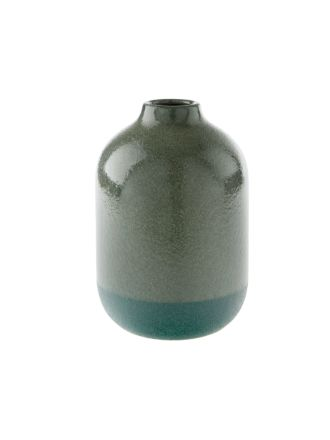 Salma Bottle Green Vase 20cm