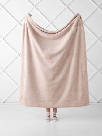 Selma Blush Throw
