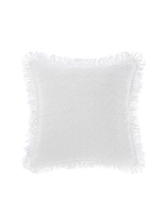 Shani White European Pillowcase