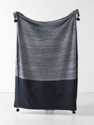 Shimo Indigo Throw