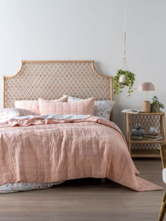 Sunday Peach Coverlet Set