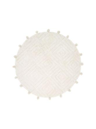 Tobago White All-Purpose Mat